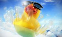 Pato sobre ojo – animación 3D + renders