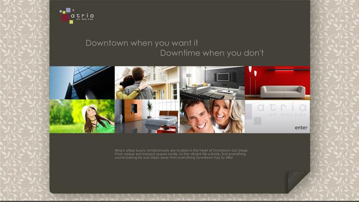 Atria – diseño web