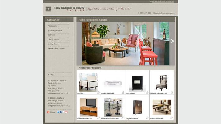 The Design Studio – Catálogo en línea