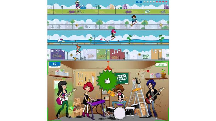 'Me la Puedo' online games