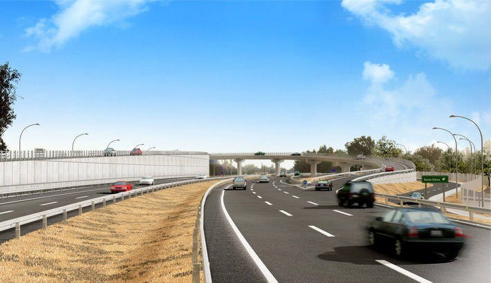 Santa Elena – highway access renderings