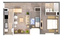 Solar de la Cisterna – 3D floor plans