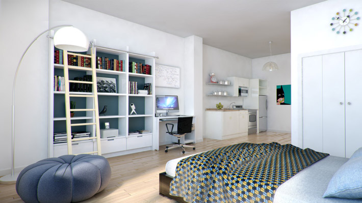 The lofts at seven – 3D renderings by Beatmap